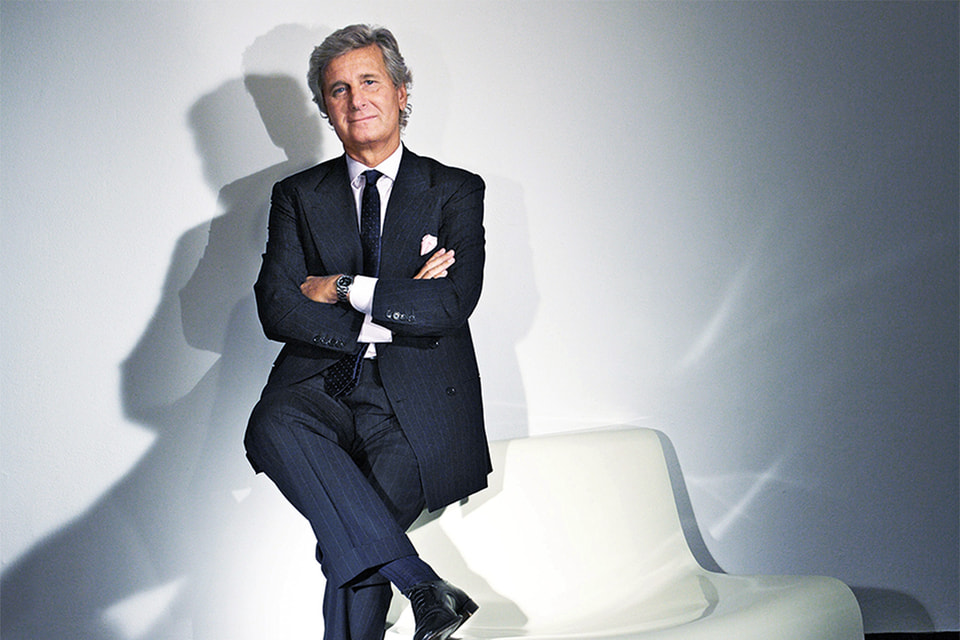 Клаудио Лути, президент и владелец мебельной компании Kartell SpA