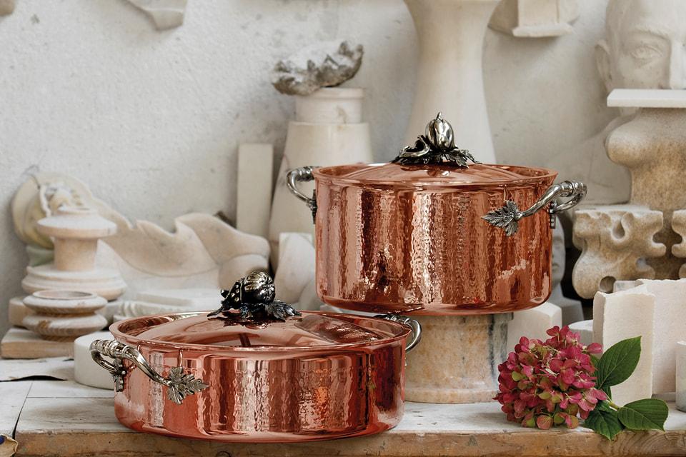 Набор посуды Ruffoni из меди