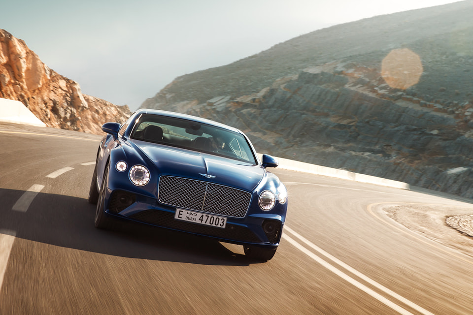 Открытие ресторана приурочено к дебюту нового Bentley Continental GT