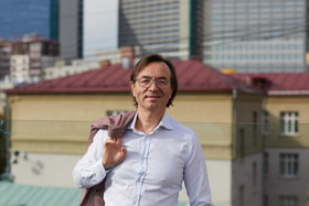 Композитор Игорь Райхельсон,  один из организаторов и вдохновителей фестиваля