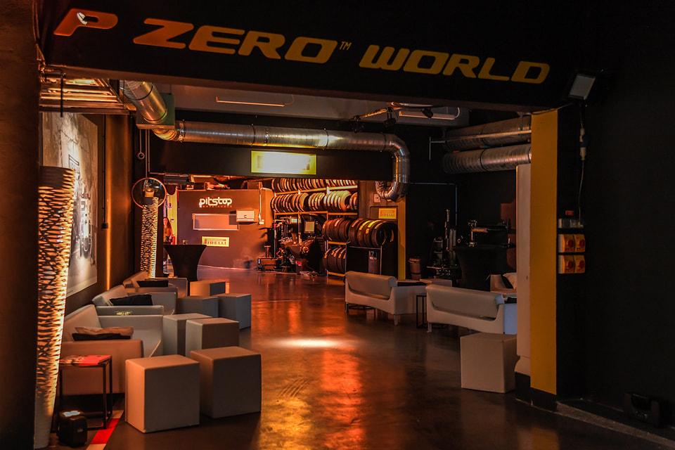 Магазин P Zero World в Монте-Карло