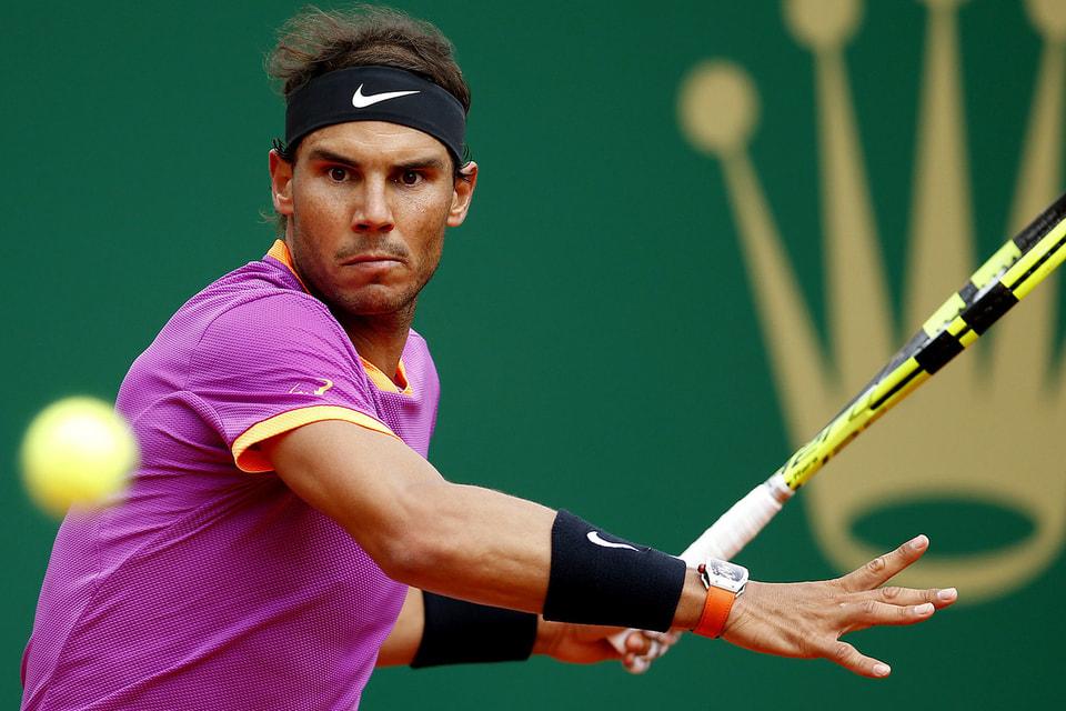 Теннисист Рафаэль Надаль – первая ракетка мира в одиночном разряде