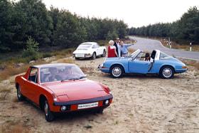 Даже по прошествии 70 лет силуэт культового 911-го Porsche угадывается безошибочно
