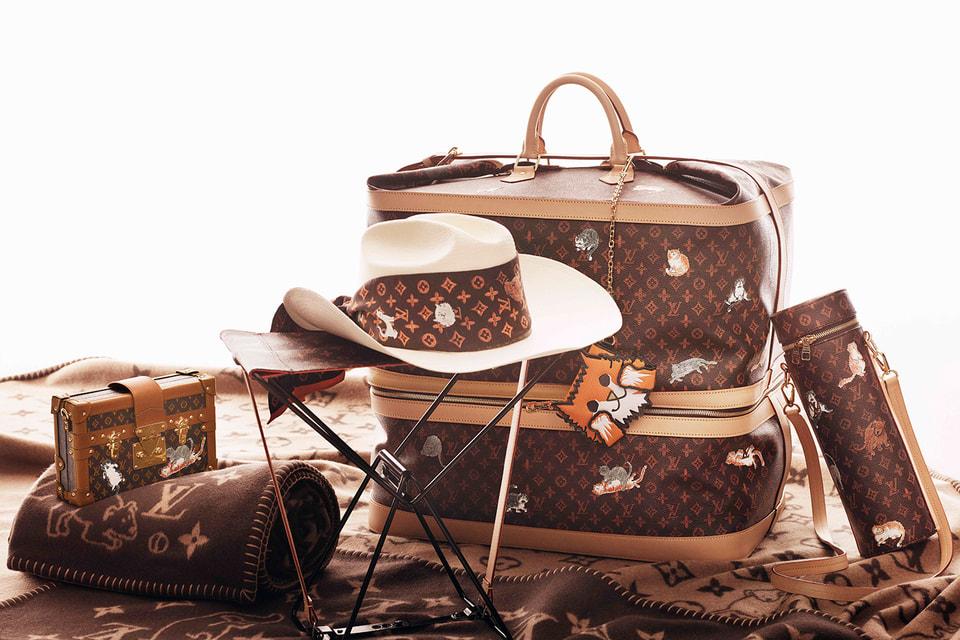 Вещи из новой капсульной коллекции Louis Vuitton x Grace Coddington