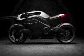 Vector – первый в мире электромотоцикл с человеко-машинным интерфейсом (HMI)