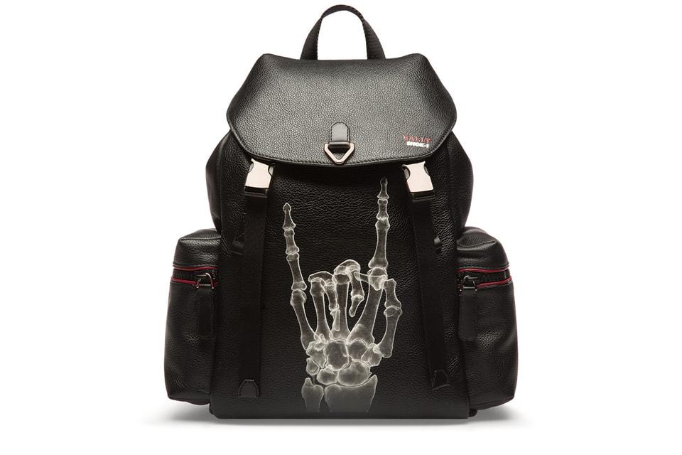 Рюкзак с принтом в виде рентгена из коллаборации Bally и SHOK-1