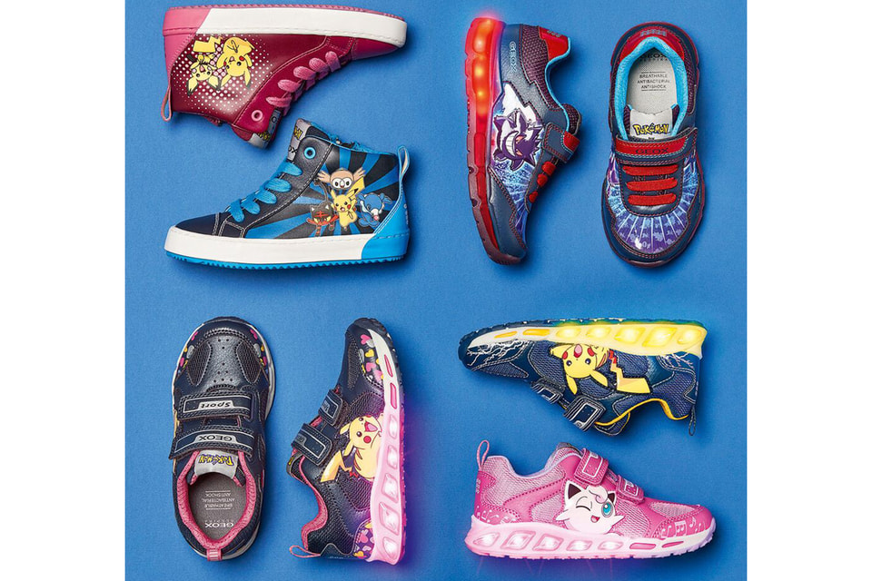 Новая коллекция обуви Pokémon by Geox