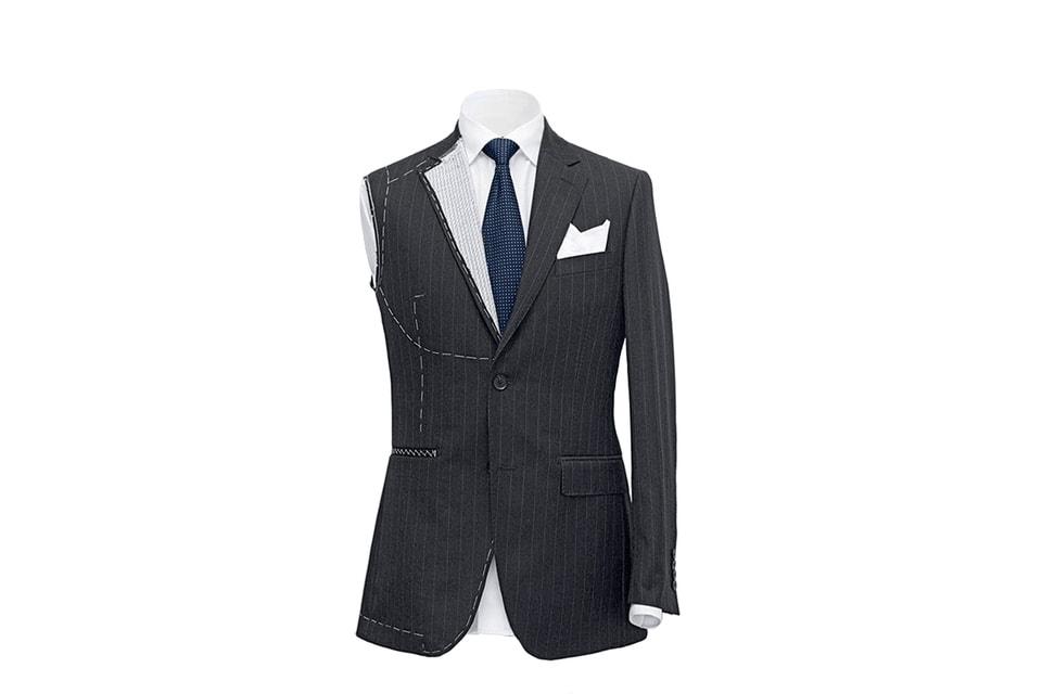 Помимо регулярных коллекций бренд предоставляет услугу по индивидуальному пошиву Henderson Su Misura