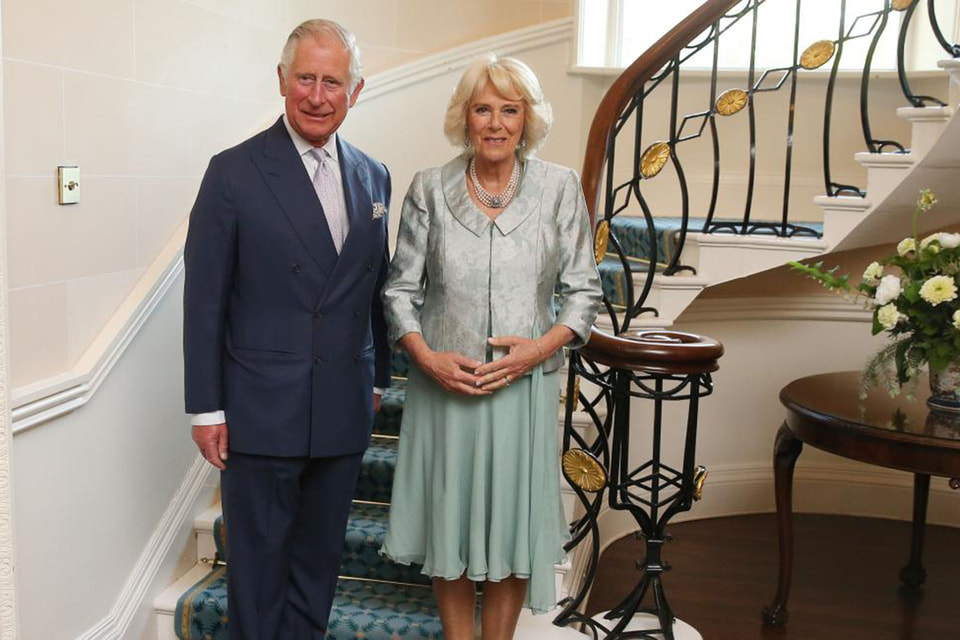 Принц с супругой герцогиней Корнуольской
