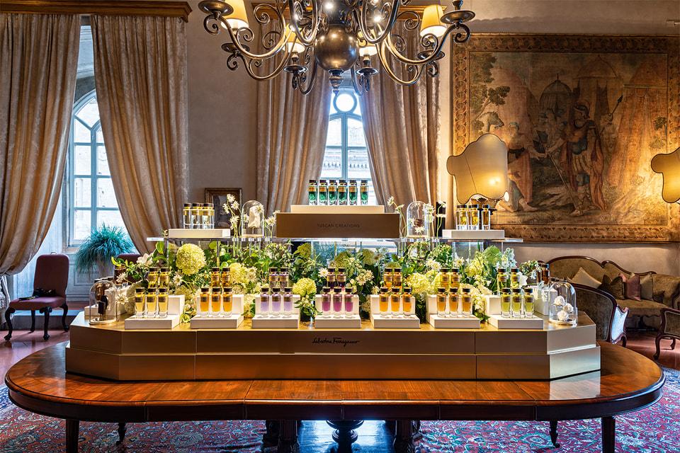 Презентация линии Tuscan Creations состоялась в Палаццо Спини-Ферони (штаб-квартире Дома Salvatore Ferragamo во Флоренции)