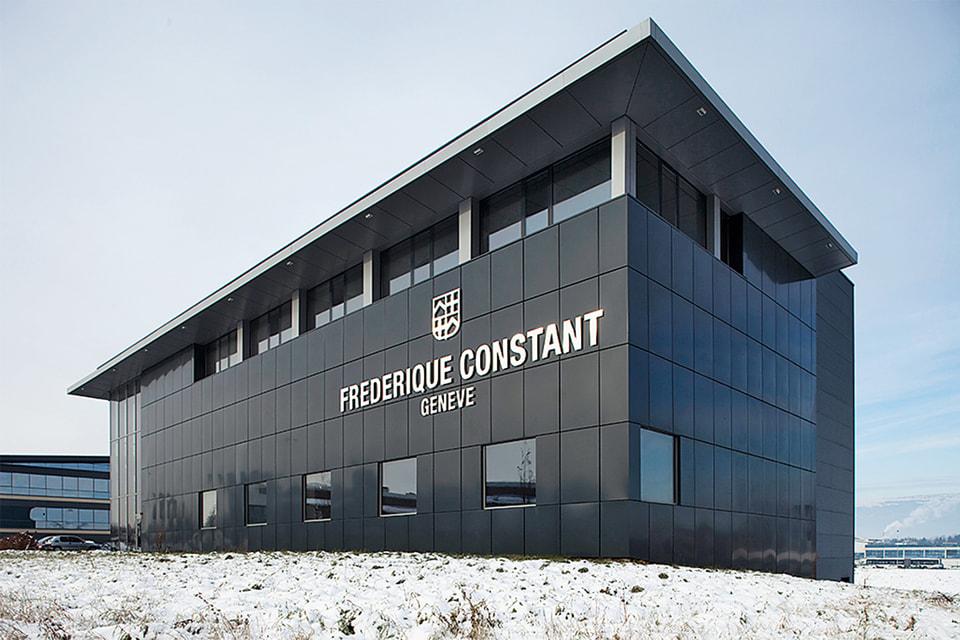 Современное здание мануфактры в План-лез-Уат