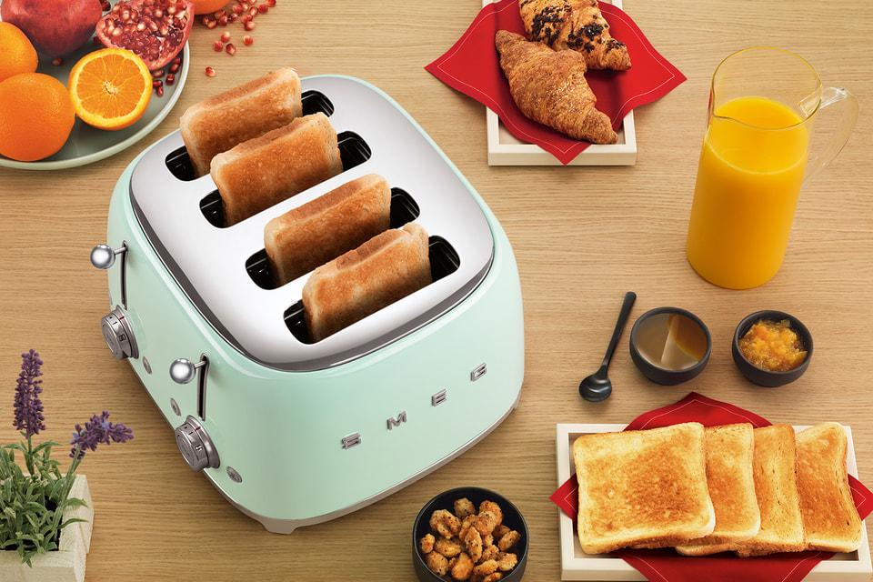 Новый тостер Smeg на четыре ломтика