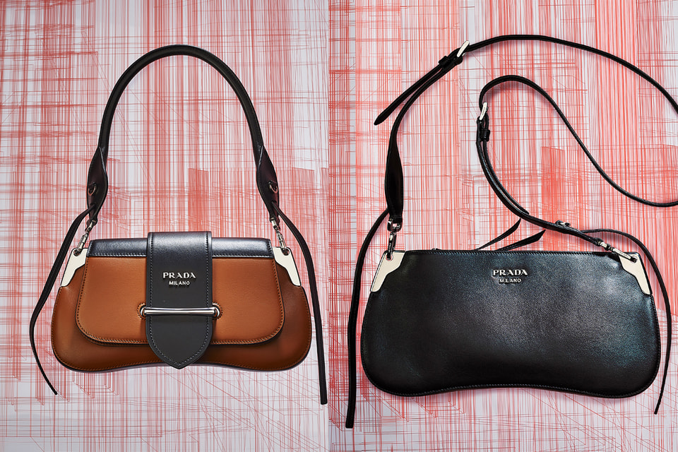 Новая модель сумки - Prada Sidonie