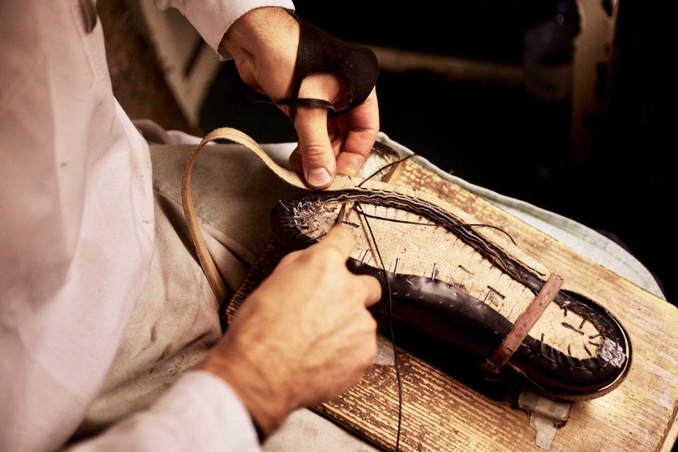 Вся обувь в мастерской Rudolf Scheer & Söhne изготавливается по индивидуальным заказам