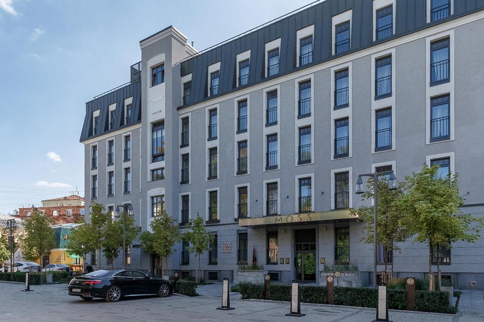 MOSS Apartments расположены в 1200 м от Кремля