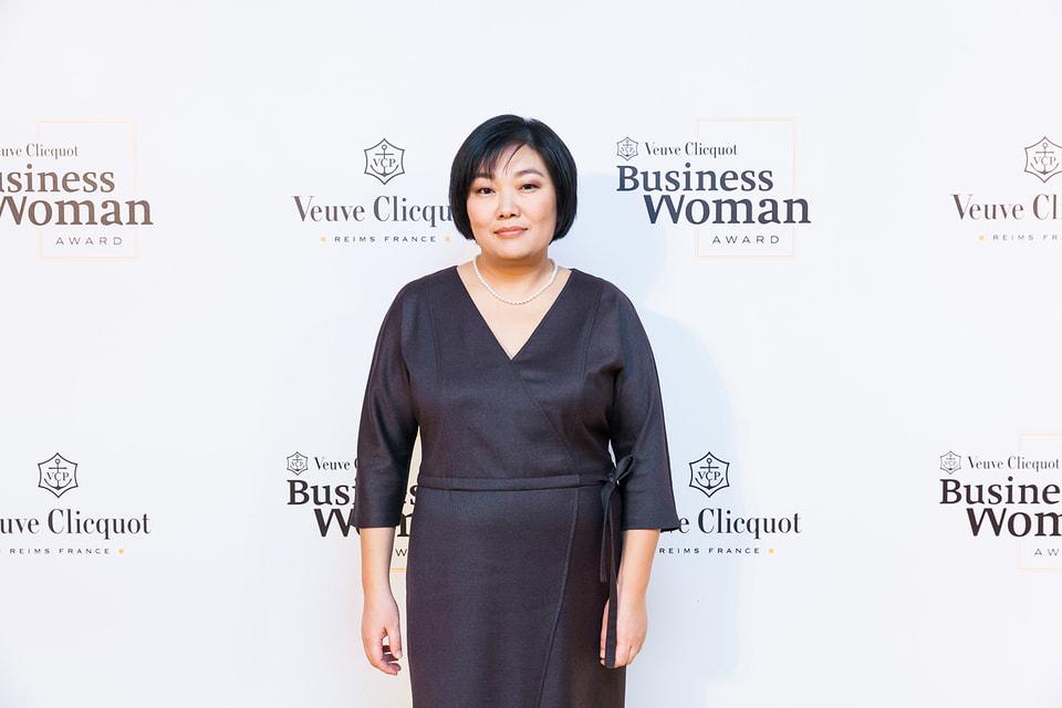 Татьяна Бакальчук, гендиректор Wildberries – лауреат премии  Veuve Clicquot Business Woman Award, впервые в истории врученной в России