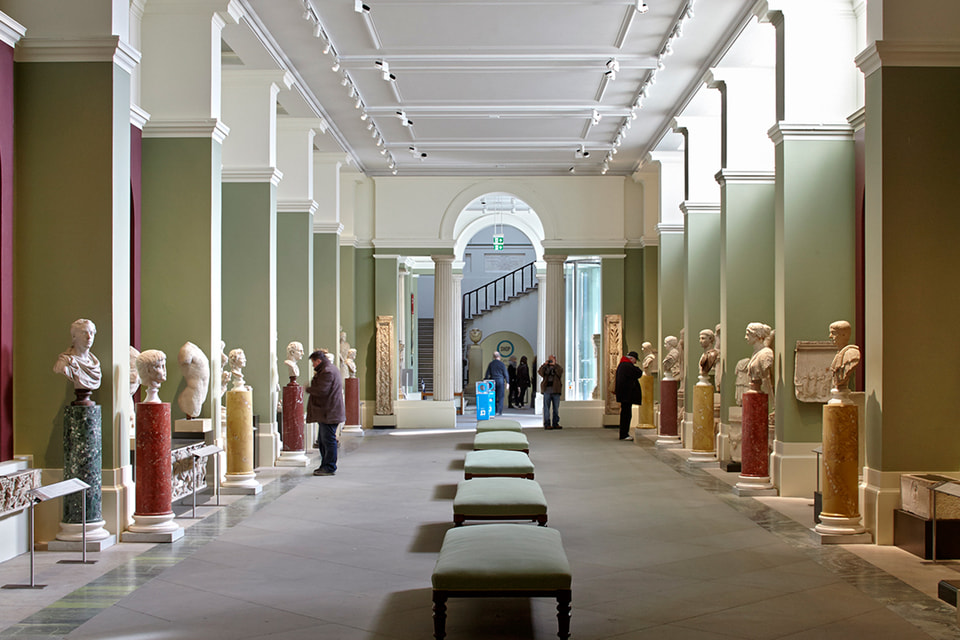 Галерея в музее Эшмола