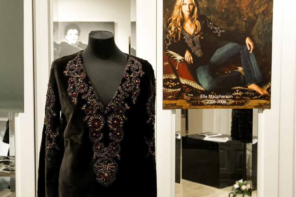 Норковая модель Blackglama, которую носила модель Эли Макферсон (2005/06 гг)