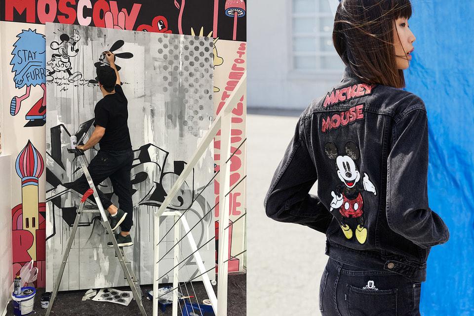 Двойное чествование Микки Мауса магазином Aizel: граффити-посвящение и специальная коллекция