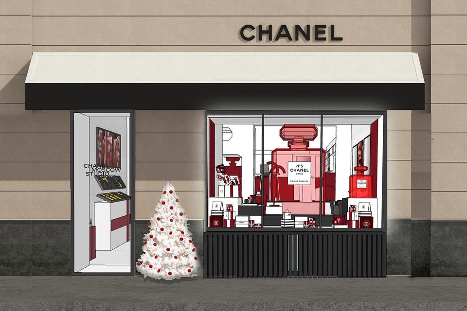 Обновленный бутик Chanel Moscow Studio