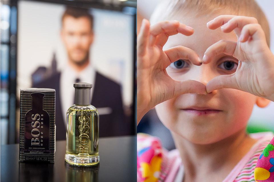 Часть средств от продажи  аромата BOSS  Bottled 20th Anniversary будет направлена в фонд помощи детям