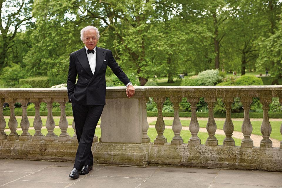 Ральф Лорен стал первым американским дизайнером, удостоившимся звания рыцаря