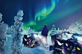 Снегоход eSleg, разработанный компанией Aurora eMotion, – результат шес-тилетнего труда сотрудников Лапландского университета прикладных наук