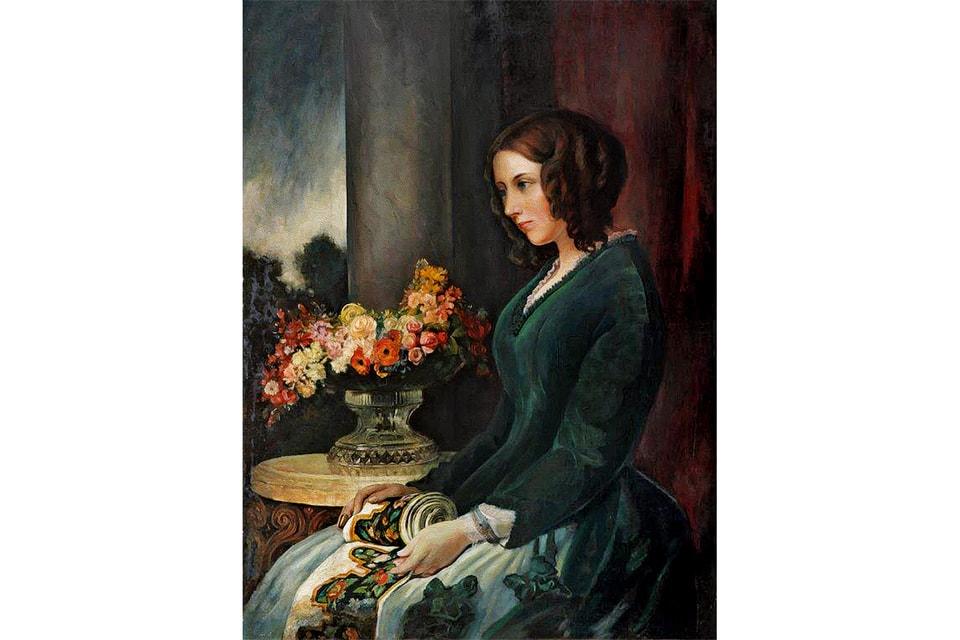 Портрет Кэтрин, жены писателя и автора книги «Что будем есть на ужин...»