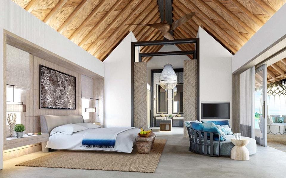 В отеле будут предусмотрены 96 просторных номеров, апартаменты и три ресторана международного уровня