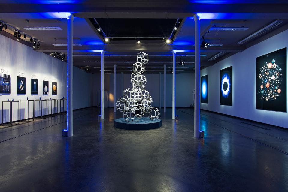 До 18 февраля посетители аэропорта Цюриха могут увидеть футуристические   инсталляции, фотографии и диджитал-объекты на тему икры, прогресса и   вечной молодости