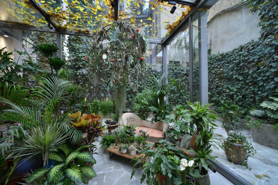 Зимний сад оформлен дизайнером Сатоши Кавамото и его бюро Green Fingers.