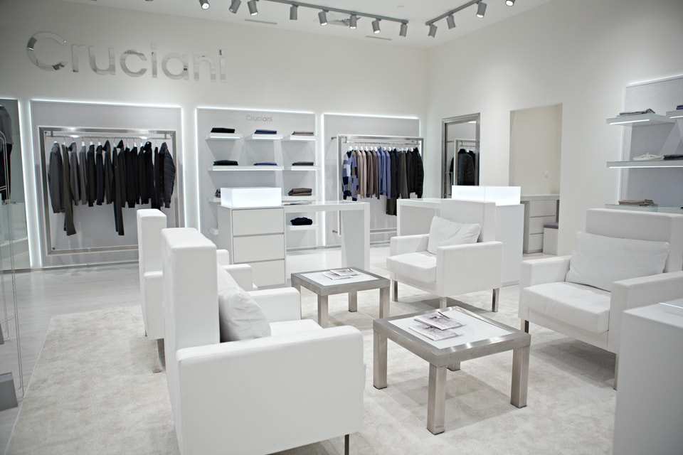 Новый бутик Cruciani