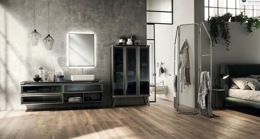 Ванная комната впервые разработана Scavolini вместе с Diesel