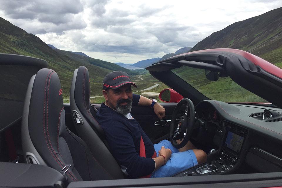На перевале, Северная Шотландия, 2017 год