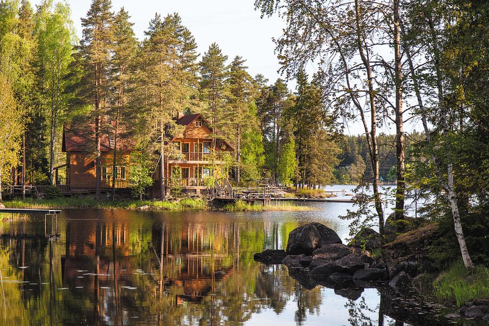 «Илоранта» (так называется база отдыха) в переводе с финского означает «берег радости»