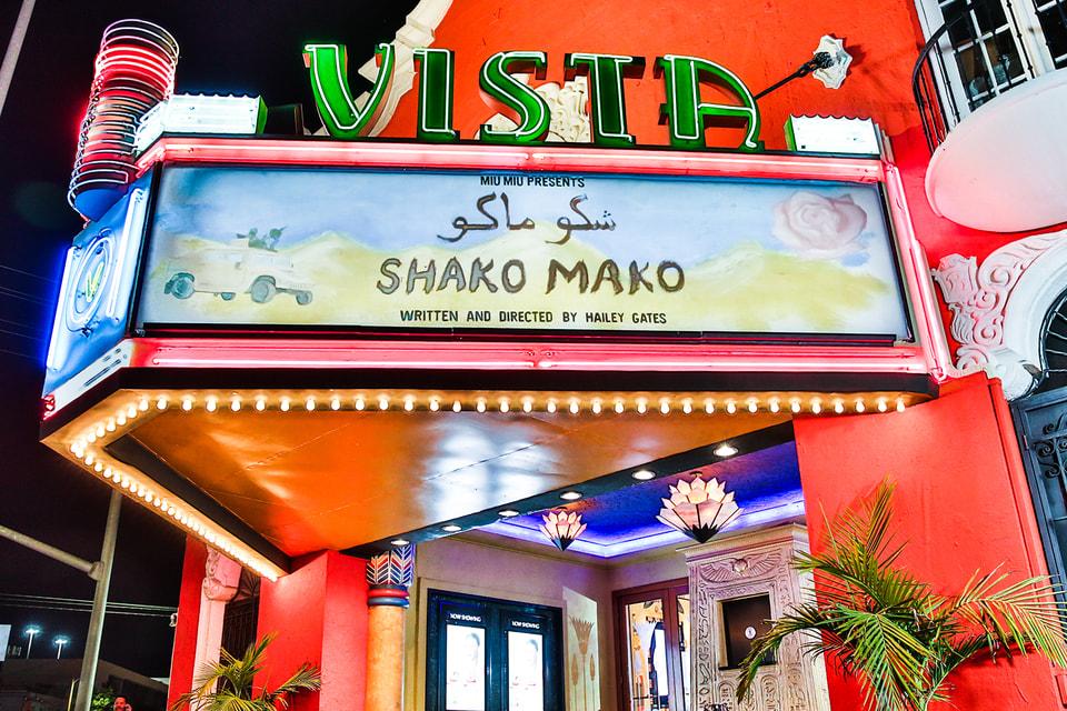 Премьера семнадцатого фильма под знаком Miu Miu состоялась в Лос-Анджелесе в кинотеатре Vista