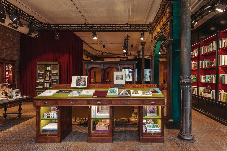 Книжный магазин Gucci Wooster Bookshop