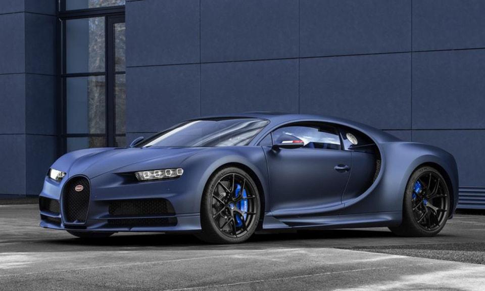 Гиперкар Bugatti Chiron Sport «110 ans Bugatti»