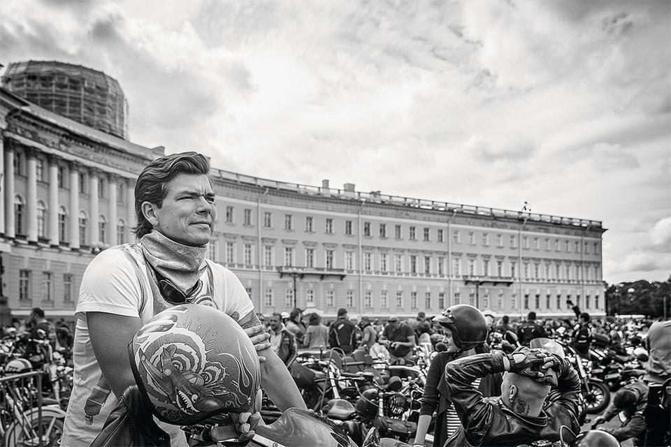 На фестивале H.O.G. в Санкт-Петербурге