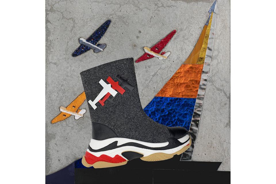Валенки-кроссовки из коллекции Ольги Солдатовой для Tervolina