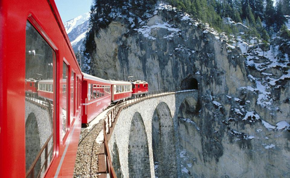 Поезд Glacier Express