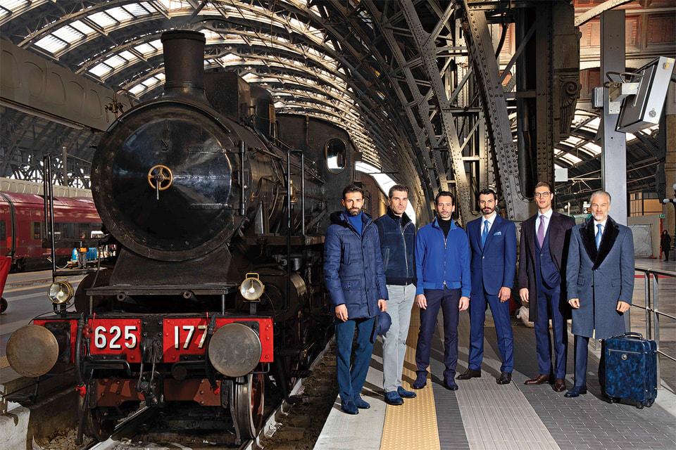 Премьера коллекции Stefano Ricci осень-зима 2019/20 состоялась на Центральном вокзале Милана в интерьерах поезда 1920-х гг.