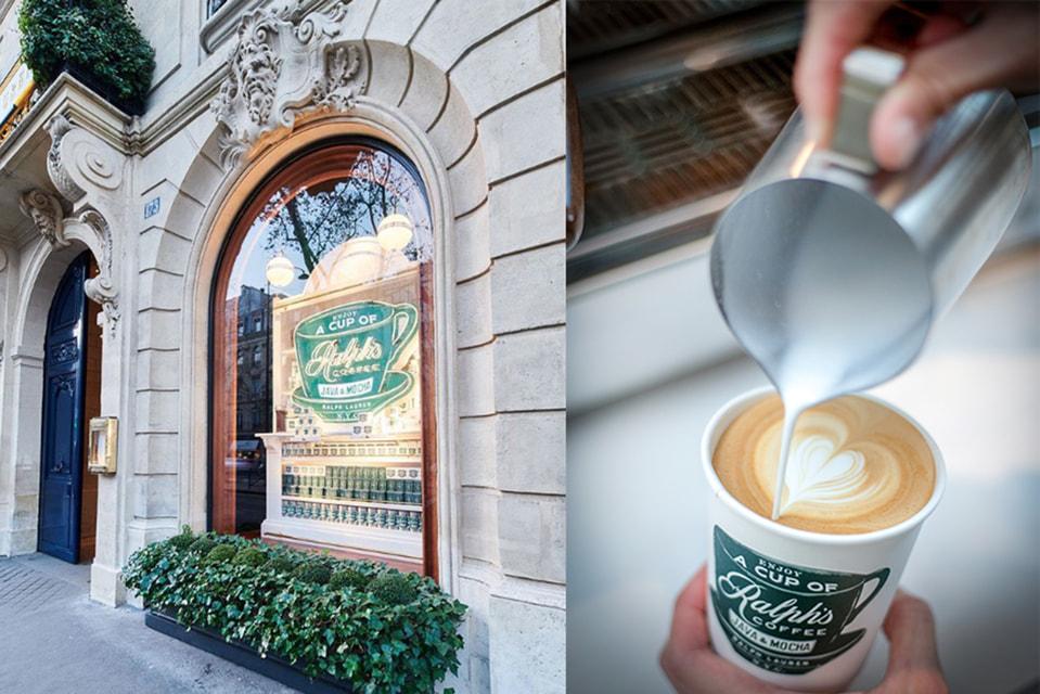 Ральф Лорен открыл в Париже кафе со своими любимыми сладостями и кофе