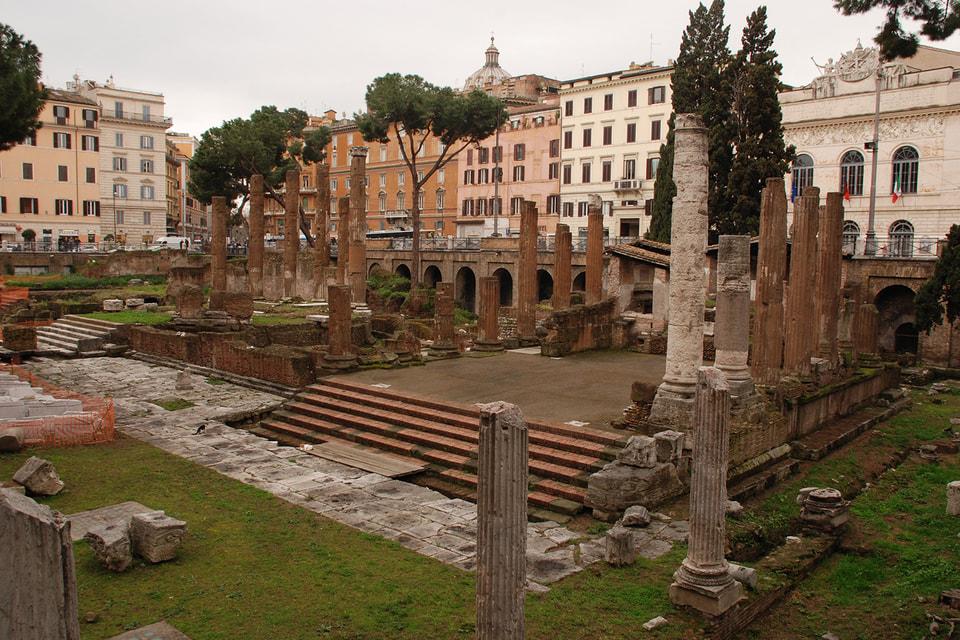 Дом Bvlgari восстановит археологическую зону  Ларго Арджентина в Риме