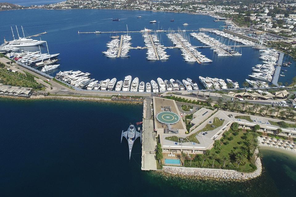 Yalıkavak Marina - первый в Турции порт с самой высокой пропускной способностью