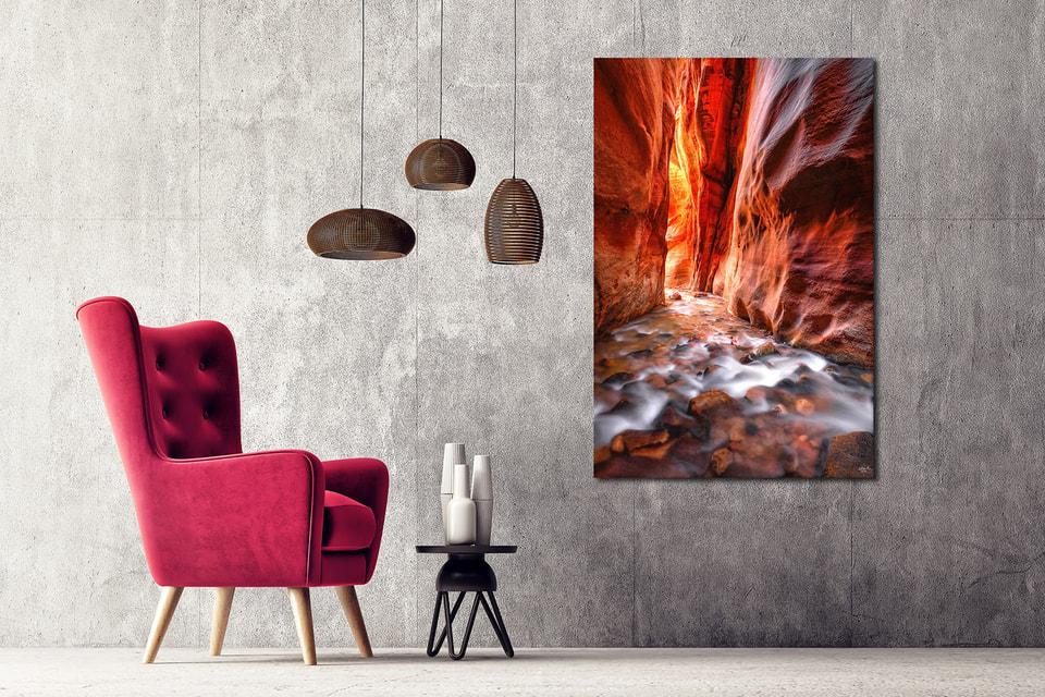 Аарон Рид создает «живые» картины природы