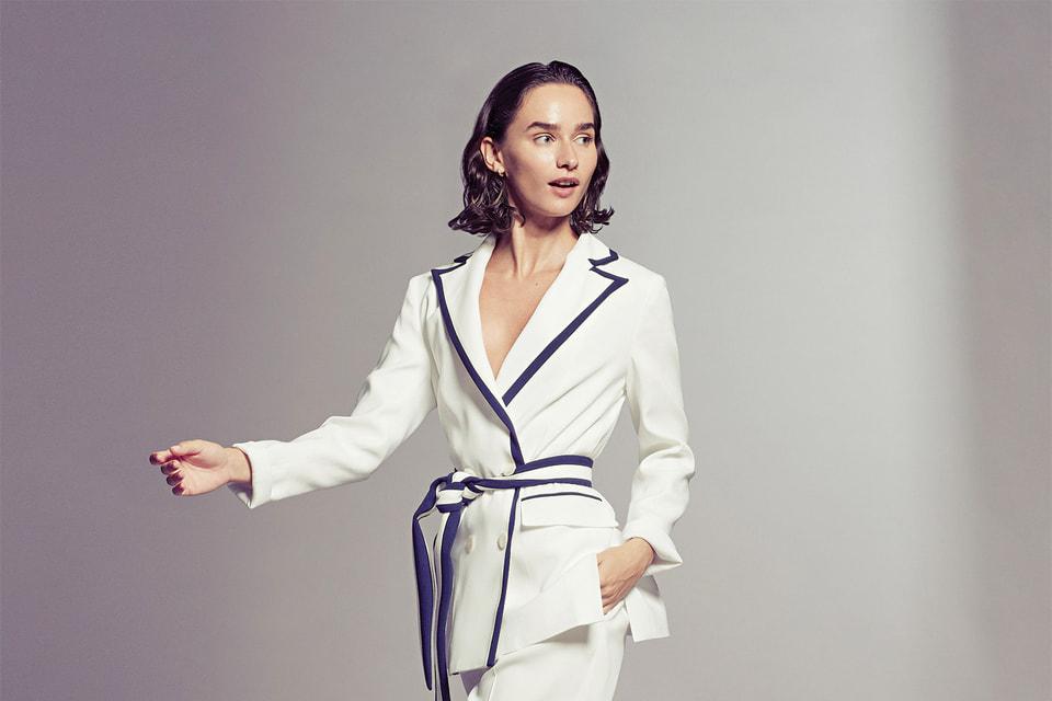 Образ из женской коллекции одежды Kiton весна-лето 2019