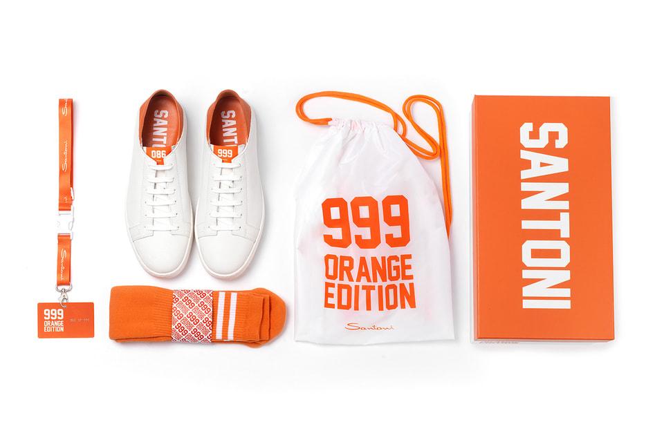 Оранжевое настроение капсульной коллекции Santoni 999 Orange Edition