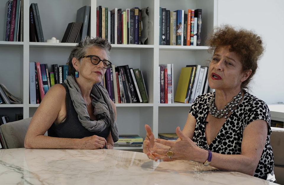 Внучки Марка Шагала – Белла и Мерет Мейер
