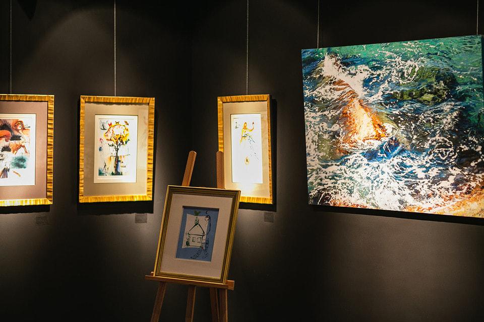 Гравюры Сальвадора Дали на благотворительном аукционе в Altmans Gallery